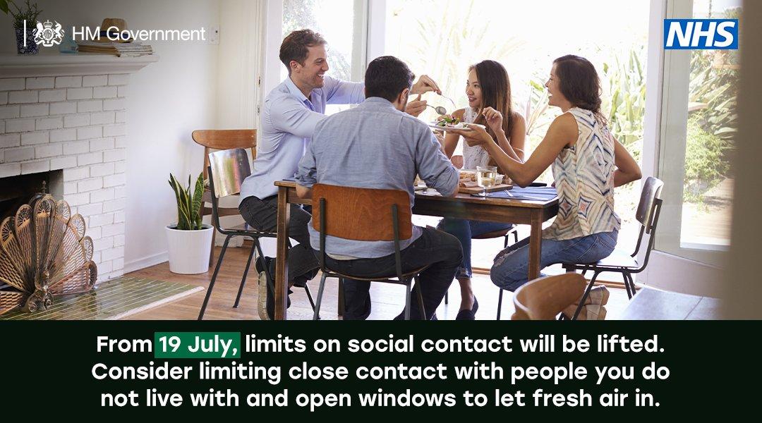 limits on social contact lifting
